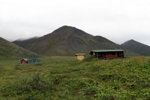 Caribou Cabin buildings