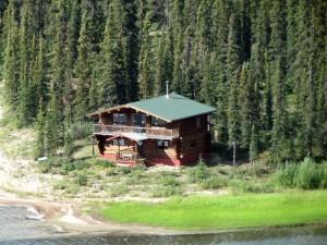 Guest Cabin at Iniakuk Lodge