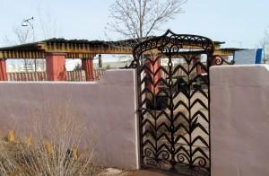 La Posada Gate Detail