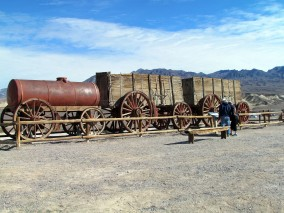 20 Mule Team wagons