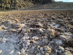 Badwater basin salt