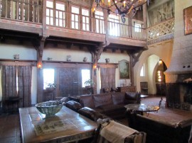 Great Hall Scotty's Castle