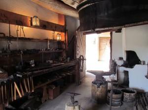 Bent's Old Fort Blacksmith Shop