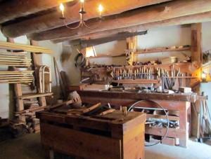 Bent's Old Fort Carpenter Shop
