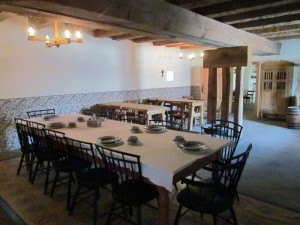 Bent's Old Fort Dining Room