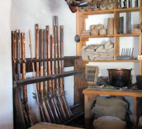 Bent's Old Fort Trading Room