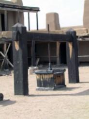 Old Bent's Fort Hide Press