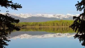 Boya Lake Provincial Park Campsite