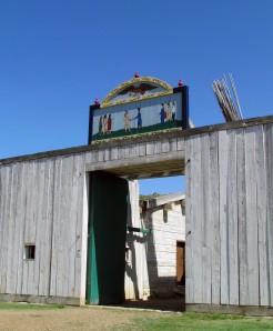 Fort Union Main Gate
