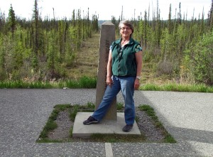 Marlene at International Boundary