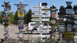 Signpost Forest - Watson Lake, Yukon
