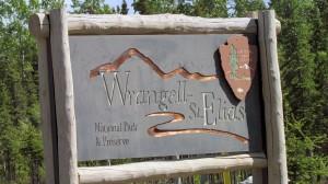 Wrangell St Elias sign.