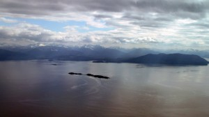 Flying from Juneau to Gustavus2