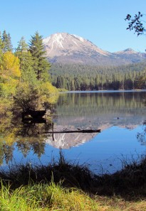Lassen Peak and Manzanita Lake2