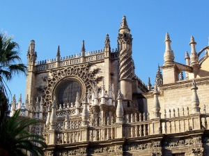 Seville Cathedral detail