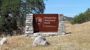 Pinnacles sign