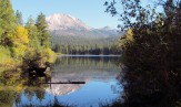 Lassen Peak and Manzanita Lake