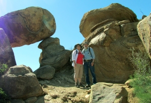 Hike to Balanced Rock2