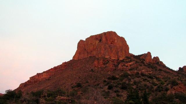 Sunset on Caasa Grande