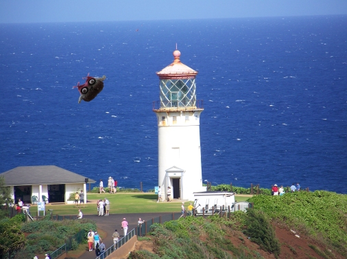 Ody at Kilauea Lighthouse